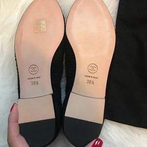 CHANEL Shoes - NIB Mesh Chanel Ballerinas